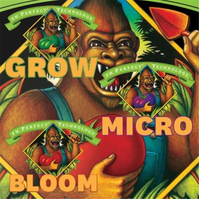 Grow, Micro, Bloom Serie